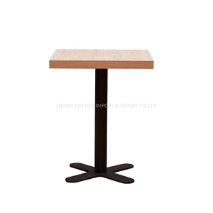 High Quality Commercial Metal Square Dining Banquet Table