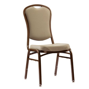 hotel furniture of stackabled steel tube banquet chair for restaurant
