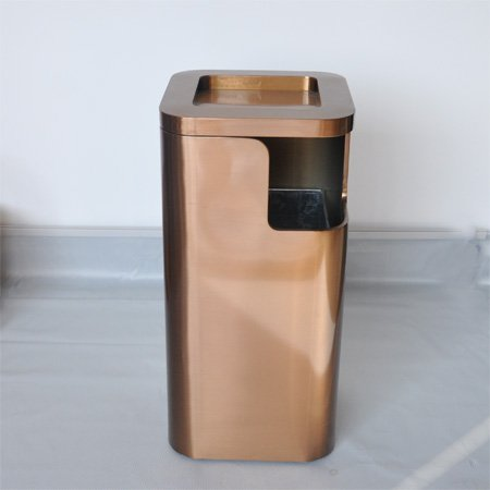 Good quality stainless steel dustbins and durable for hotel