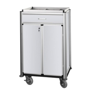 Hotel Luxury Aluminium Beverage Restocking Housekeeping Maid Cart