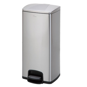 Stainless steel pedal indoor dustbins 30L