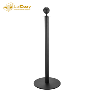 Hotel bank hospital crowd control queue stanchion post