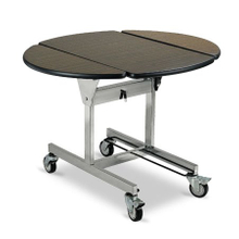High Quality Hotel Guest Room Foldable Room Service Trolley Heated Food Delivery Cart with Hot Box