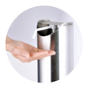 Stainless Steel Touchless Pedal Hand Soap Dispenser Stand