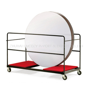 Round resturant table trolley