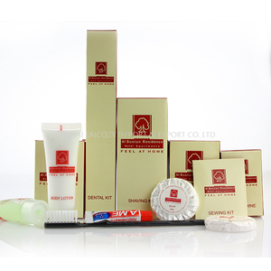 Fashion Wholesale Bathroom Disposable Mini Box Hotel Amenities