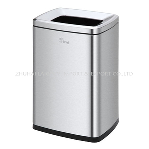 Hotel stainless Steel 20L indoor dustbins