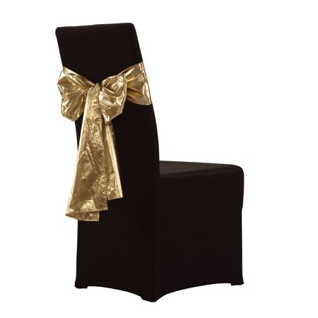 hotel banquet wedding chair cover cloth with colorful design decorative band