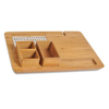 Hotel Guest Room Light Color Bamboo Kettle Tray Welcome Tray