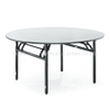Wholesale Padded PVC Plywood Folding Restaurant Round Table