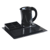 New design hotel melamine welcome tray