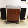 Good Quality Hotel Aluminum Housekeeping Cleaning Maid Cart