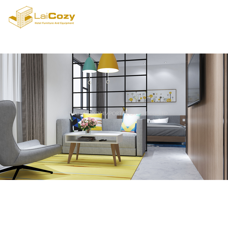 Modern MDF house use apartment villa bedroom furniture