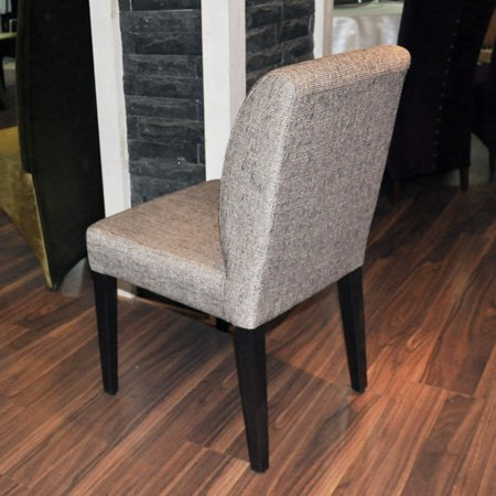 Hotel Luxury Metal Frame Durable Black Painting Chair
