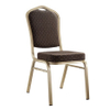 good quality steel stacking banquet dining chair for hotel