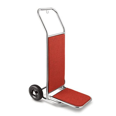 stainless steel folding hotel simple suitcase hand truck