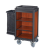 Hotel Lightweight Housekeeping Maid Cart Cleaning Trolley