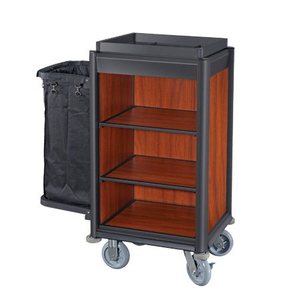 Hotel Lightweight Maid Cart Cleaning Trolley