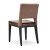 Durable steel dining chair for restaurant