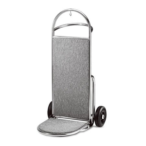 Hotel used wheeled mini lighweight suitcase hand truck