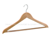 Wholesale wood T-shirt man Hangers for Clothes