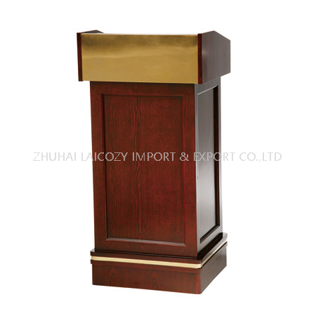 Wooden Speech Church conference Podium Stand