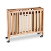 Hotel Safety Foldable Luxury Wooden Baby Crib