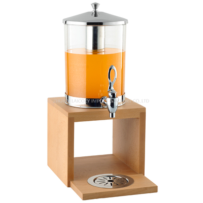 Popular Beer double glass Tower Juice drinks dispenser