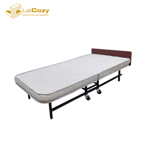 Hotel Rollaway Extra Metal Folding Single Guest Bed