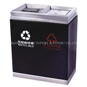Hotel indoor dustbins classified environment-friendly