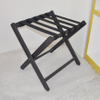 Hotel room solid WPC(wood plastic composite) luggage rack foldable