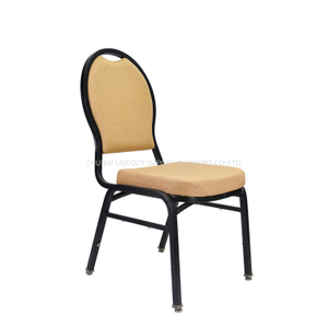Wholesale Fancy Stacking Metal Royal Hotel Dining Chairs