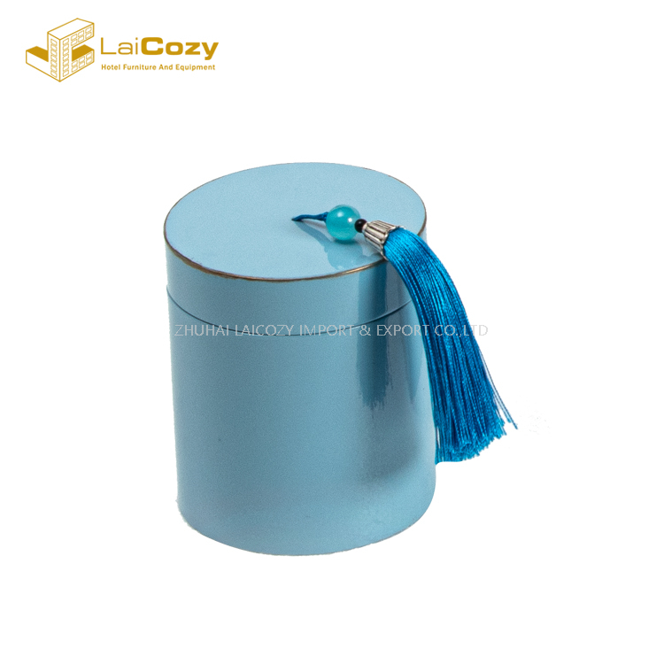 Fashion Hotel Polyresin Customized Bathroom Accessories Set