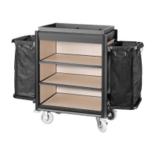 Hotel Aluminum Lightweight Housekeeping Cleaning Maid Cart