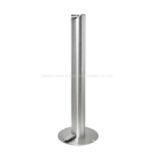 Stainless Steel Pedal Hand Soap Dispenser Stand
