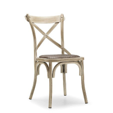 Modern Design Hotel Restaurant Wood Grain Steel Chair