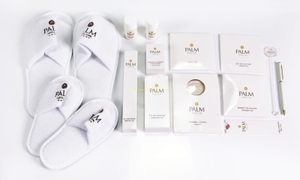 Customized economic PALM hotel supplies amenity set