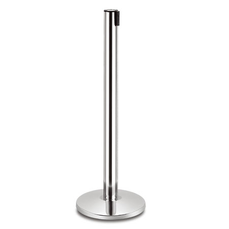 Hotel stanchion post of handrail post and retractable post.